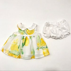 Gymboree 🍋 Lemons Dress